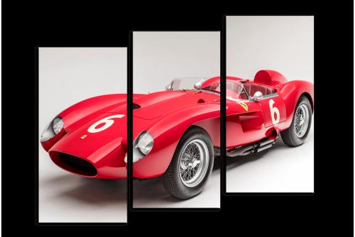 Модульная картина Ferrari Retro